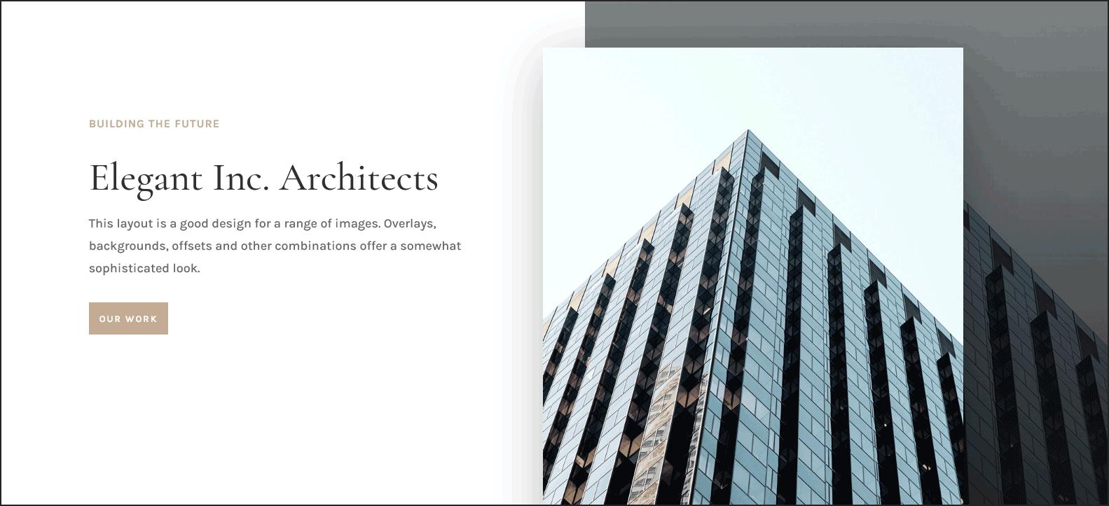 Architect Website Design