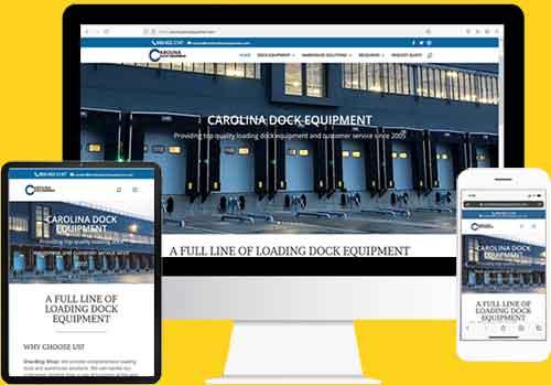 Website design on differentsize screens